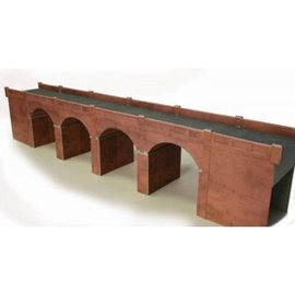 Metcalfe Metcalfe PO240 Red brick viaduct (H0/OO gauge)
