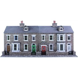 Metcalfe Metcalfe PO275 Low relief stone terraced houses (H0/OO gauge)