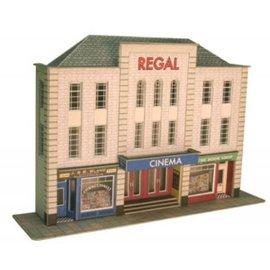 Metcalfe Metcalfe PO206 Low relief cinema and shops (H0/OO gauge)