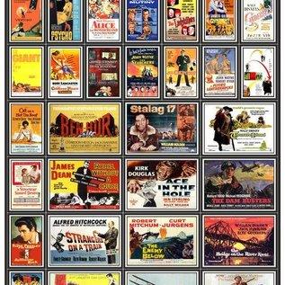 Trackside Signs Kino-Werbungsposter aus den 50ern  (Serie 2) (Baugröße H0/OO)