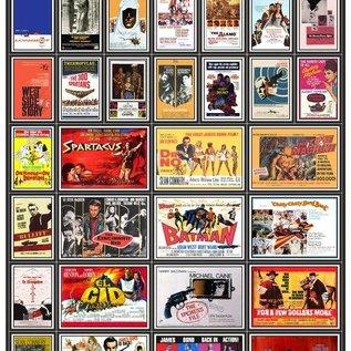 Trackside Signs Filmposters 1960 Deel 1 (Schaal H0/00, Stickers)