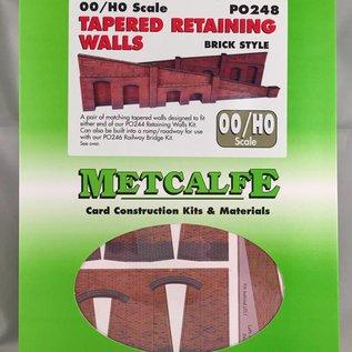Metcalfe Metcalfe PO248 Op- afrit in rode baksteen (Schaal H0/00, Karton)