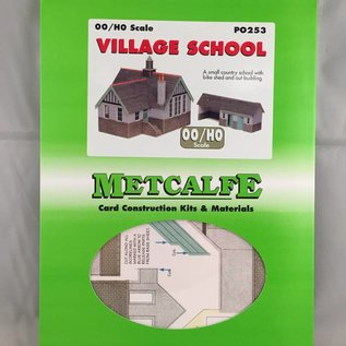 Metcalfe Metcalfe PO253 Dorpsschool (Schaal H0/00, Karton)