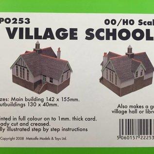 Metcalfe Metcalfe PO253 Village school (H0/OO gauge)