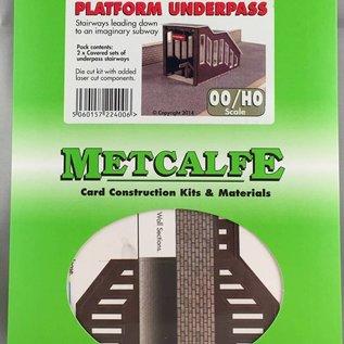 Metcalfe Metcalfe PO400 Fußgängerbrücke, überdacht (Baugröße H0/OO)