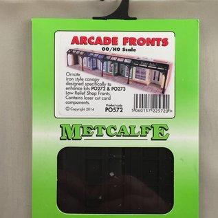 Metcalfe Metcalfe PO572 Sierlijke winkelstraat-overkapping (Schaal H0/00, Karton)