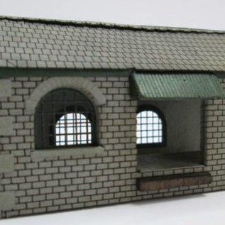 Ancorton Models Goederenschuur (Schaal N, lasercut)