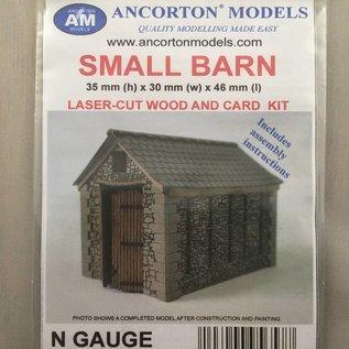 Ancorton Models Ancorton NRB2 Bauernscheune aus Naturstein (Spur N, lasercut)
