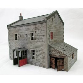 Ancorton Models Country house, laser cut kit, H0/OO gauge