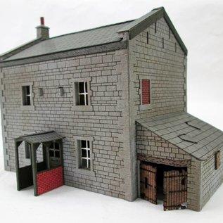 Ancorton Models Ländliches Haus aus Naturstein, Spur H0/OO)