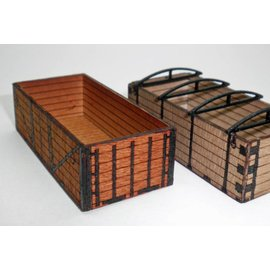 Ancorton Models Transportation  crates, laser cut kit, H0/OO scale
