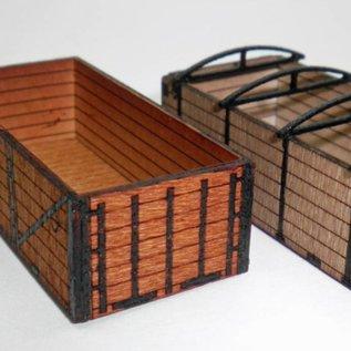 Ancorton Models Transportation  crates, laser cut kit, H0/OO scale