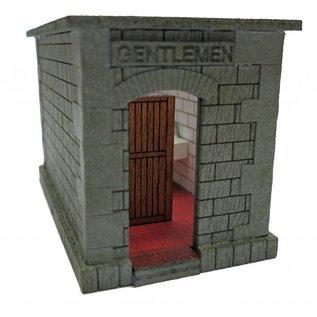 Ancorton Models Ancorton OOTB1 Perron-toilet (schaal H0/00, lasercut)
