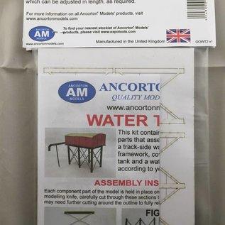 Ancorton Models Ancorton OOWT2 Watertoren (schaal H0/00, lasercut)