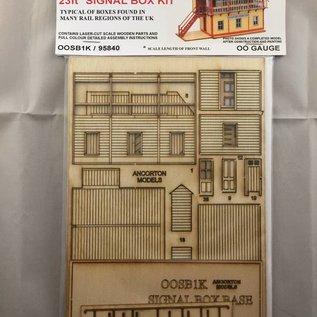 Ancorton Models Ancorton OOSB1K Seinhuisje (Schaal H0/00, lasercut)