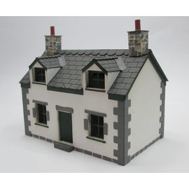 Ancorton Models Ancorton OOH3 Cottage (Schaal H0/00, lasercut)