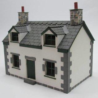 Ancorton Models Cottage, laser cut kit, H0/OO gauge