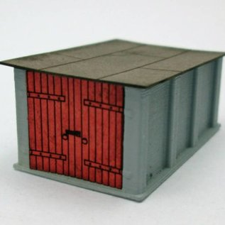 Ancorton Models Garagenbox aus Beton, Spur N, 3D print