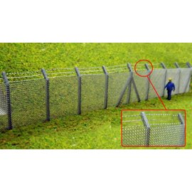 Ancorton Models Ancorton OOF8  Security Fencing Kit (H0/OO scale, lasercut)