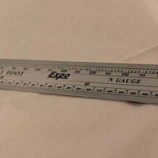 Expo Tools Schaal Lineaal N (1:160)