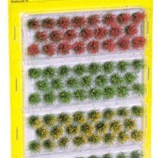 NOCH Noch 07010 Bosjes Gras 12mm 4 kleuren