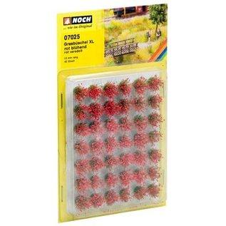 NOCH Noch 07025 Grass Tufts 12mm blooming red