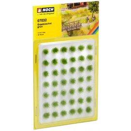 NOCH Bosjes Gras 6 mm Groen