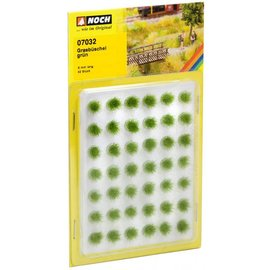 NOCH Noch 07032 Bosjes Gras 6 mm Groen