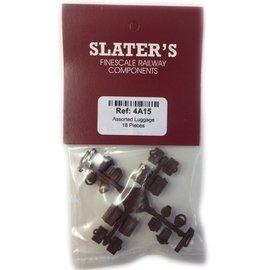 Slater's Plastikard SL4A15 18 Stuks Bagage, H0, Plastic