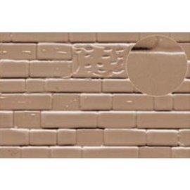 Slater's Plastikard SL424 Plasticard Brick Dressed Stone Grey