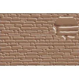 Slater's Plastikard SL419 Plasticard Stone Courses Grey Medium