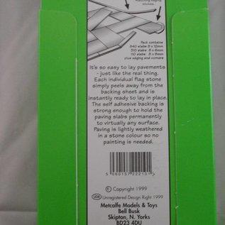 Metcalfe Metcalfe PO210 Zelfklevende (stoep) tegels Schaal (schaal H0/OO)