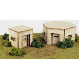 Metcalfe Metcalfe PO520 Pillboxes (H0/OO gauge)