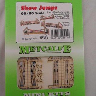 Metcalfe Metcalfe PO511 Paardensport hindernissen (schaal H0/OO)