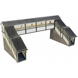 Metcalfe Metcalfe PO236 Footbridge for railway station (H0/OO gauge)