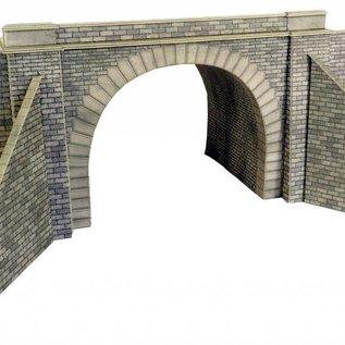 Metcalfe Metcalfe PO242 Double track tunnel entrances (H0/OO gauge)