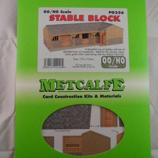 Metcalfe Metcalfe PO256 Pferdestall (Spur H0/OO)