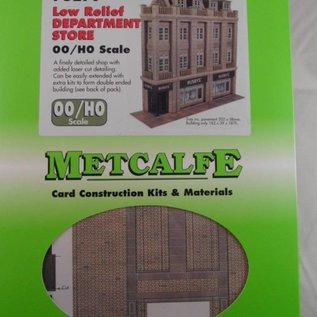 Metcalfe Metcalfe PO279 Warenhuis in halfreliëf (schaal H0/OO)