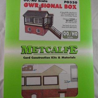 Metcalfe Metcalfe PO330 Seinhuis (G.W.R. stijl) (schaal H0/OO)