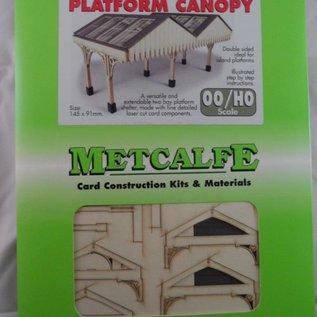Metcalfe Metcalfe PO340 Perronoverkapping (H0/OO)