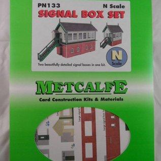 Metcalfe Metcalfe PN133 Stellwerk Satz (Spur N)