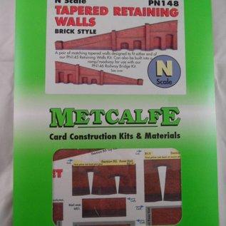 Metcalfe Metcalfe PN148 Op- afrit in rode baksteen (Schaal N, Karton)