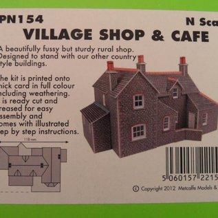 Metcalfe Metcalfe PN154 Dorpswinkel & café (Schaal N, Karton)