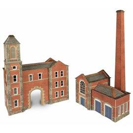Metcalfe Metcalfe PN184 Boiler house & factory entrance (N-Gauge)