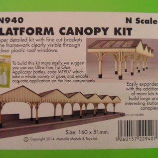 Metcalfe Metcalfe PN940 Platform Canopy (N-Gauge)