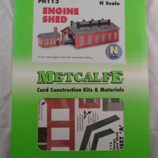 Metcalfe Metcalfe PN113 Dubbelspoors locloods (Schaal N)