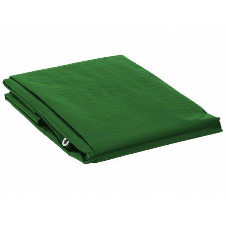 Dekzeil Super Premium 250 gr/m2. UV bestendig. 4 x 6 m Groen