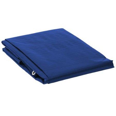 Dekzeil Super Premium 250 gr/m2. UV bestendig. 6 x 8 m Blauw