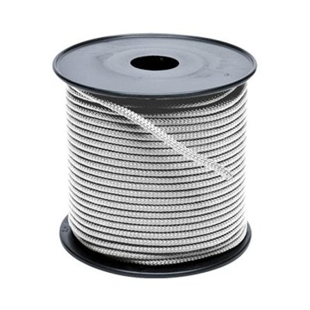 Touw polyester wit 8 mm haspel 300m