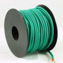 Polyester touw 3mm op spoel 17 m. Groen Unicolor